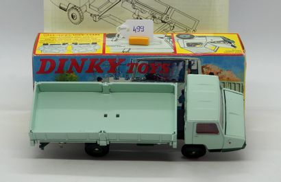 DINKY TOYS - FRANCE - Métal (1)  # 569 BERLIET STRADAIR  2 tons de vert, aménagements...
