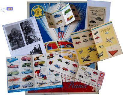CIJ - France - LOT DE DOCUMENTS CIJ-EUROPARC (6)  Lot de documents relatifs à la...