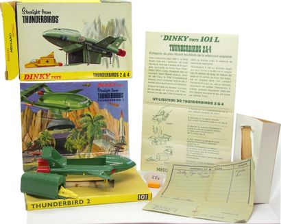 DINKY TOYS - Grande-Bretagne - Métal (1)  VERSION PEU COURANTE  # 101 L - THUNDERBIRDS...