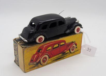 NOREV - France - 1/43e - Plastique (1)  # 3 - CITROËN 15/6 cyl. FAMILIALE  Noire,...