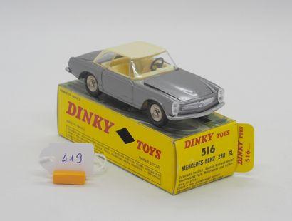 DINKY TOYS - FRANCE - Métal (1)  # 516 MERCEDES...