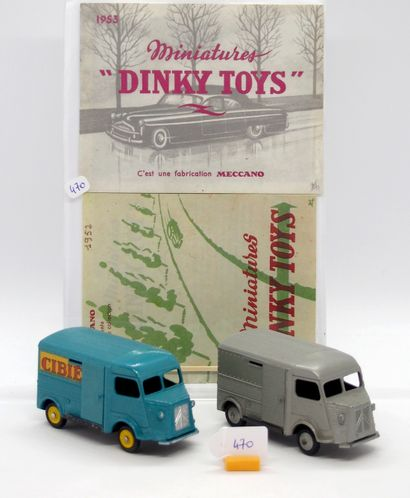 DINKY TOYS - FRANCE - Métal Documents (4)...