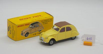DINKY TOYS - FRANCE - Métal (1)  # 558 CITROËN...