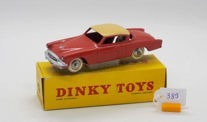DINKY TOYS - FRANCE - Métal (1)  # 24 Y STUDEBAKER...