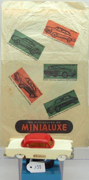 MINIALUXE - France - Plastique (1)  PROMOTIONNEL...