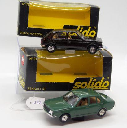 SOLIDO - France - 1/43e - Métal (2)  - #...