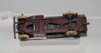 DINKY-TOYS - France - 1/43e - Métal (1)  RARE  # 25 e CAMION BENNE BASCULANTE  Cabine...