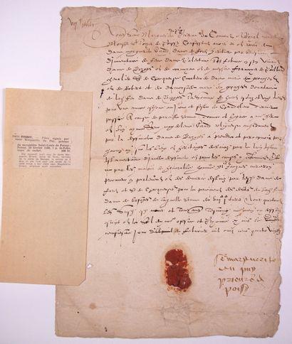 YVELINES. 1580. PRIEURÉ DE SAINT-LOUIS DE...