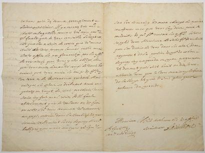 GARD. 1645. ABBAYE DE SAINT-GILLES. PHÉLYPEAUX...