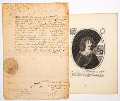 Urbain de MAILLÉ, Marquis de BRÉZÉ, Maréchal...