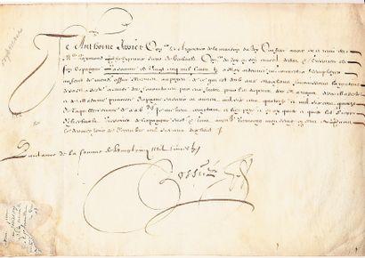 (MARIAGE DE LOUIS XIII AVEC L'INFANTE D'ESPAGNE)...