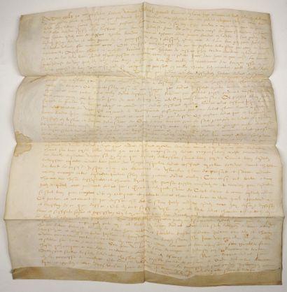 LOIRET. 1569. Châtellenie de SAINT GONDON...