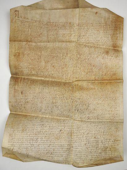LOZÈRE. 1544. Testament de Noble Homme Pierre...
