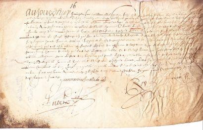 (MARIAGE DE LOUIS XIII avec ANNE D'AUTRICHE...