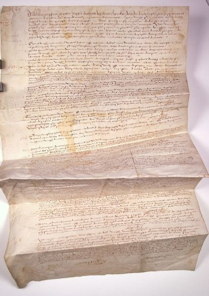 CALVADOS 1568. SEIGNEURIE D'HERMANVILLE....