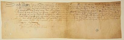 (1615. RÉCEPTION À BORDEAUX POUR LE MARIAGE...