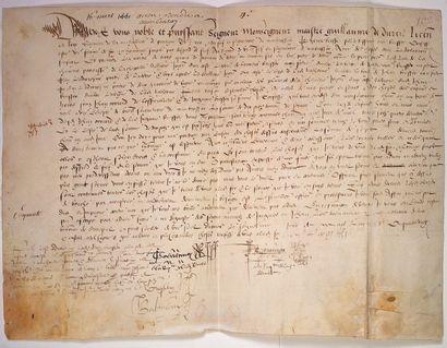 (SARTHE) 1551. LA CHAPELLE D'ALIGNÉ. Grand...