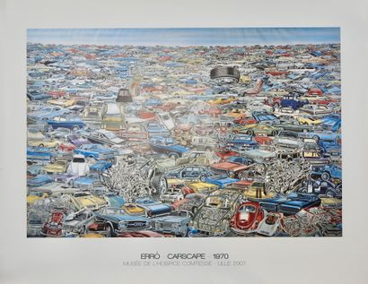 Gudmundur ERRO (né en 1932)  Carscape, 1970...