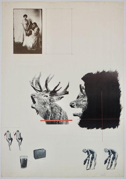 Joel Kermarrec (né en 1939)  Sans titre  Sérigraphie...