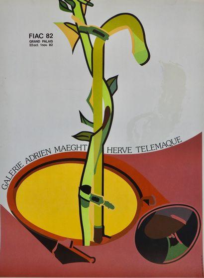Hervé Telemaque (né en 1937)  Hervé Télémaque,...