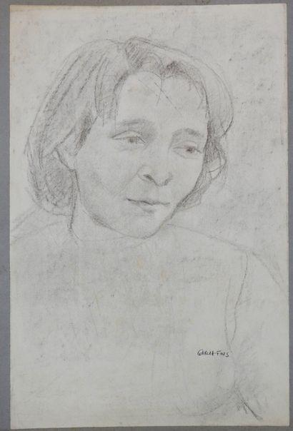 Pierre Garcia-Fons (1928-2016)  Portrait...