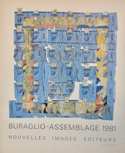 Pierre Buraglio (né en 1939)  Assemblage,...