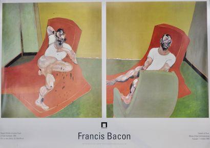Francis Bacon (1909-1992)  Portraits de Lucian...