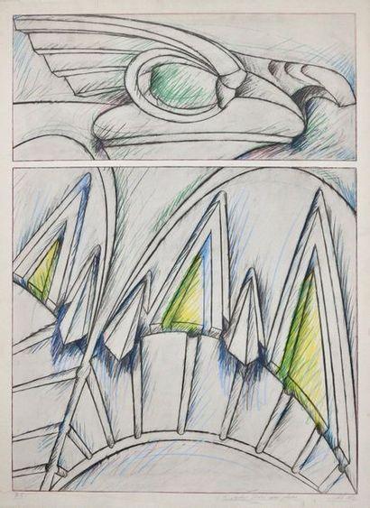Jacques Poli (1938 – 2002)  Sans titre, 1982...