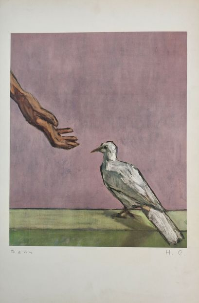 BENN (Benejou Rabinowicz dit) (Pologne, 1905-1989)...