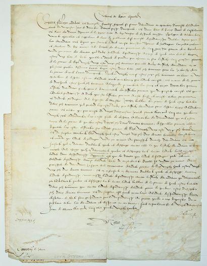 Dame Renée de RIEUX, Baronne de CASTELLANE,...