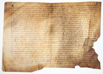 CHARENTE MARITIME. 1339. Devant «Guillaume...