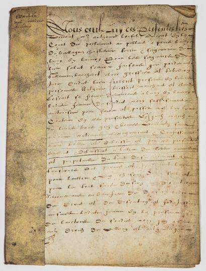 SEINE-SAINT-DENIS. 1602. LIVRY-GARGAN (93)....