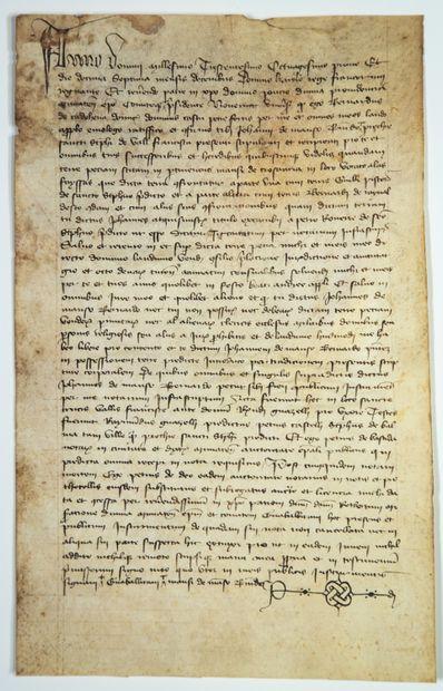 1381. Testament fait à ROUEN, du 7 Décembre...