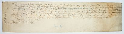 CHARENTE MARITIME. 1589. PRÉSIDIAL DE SAINTES:...