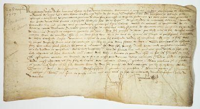 MAISONS ALFORT (94). Charte passée le 29...