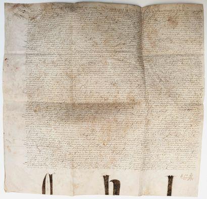 BELGIQUE. 1553. SEIGNEUR DE KEVRAING. Pièce...