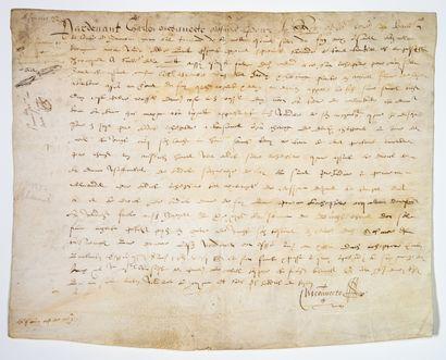 HAUTE-MARNE. 1587. Bailliage et Comté de...