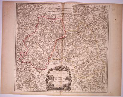 Carte: «Partie orientale du Gouvernement général de la GUIENNE où se trouvent le...