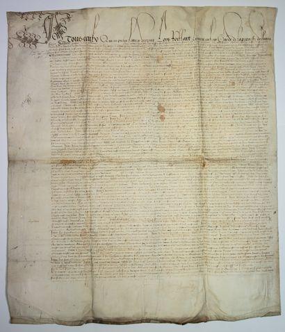 LOIR-ET-CHER. 1505. LOIRET. Devant Louis...