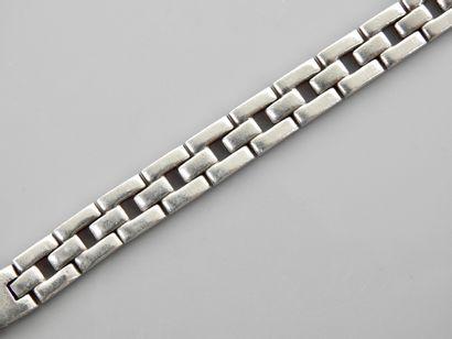 Bracelet d'homme en , argent 925 MM, longueur...