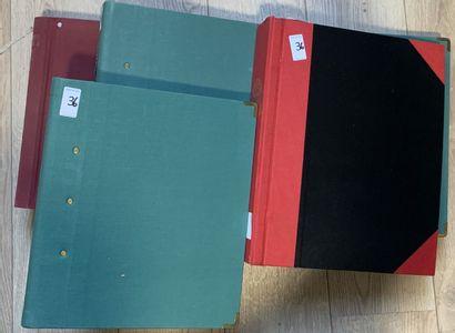 5 Albums Collection d'Obliteration et de...