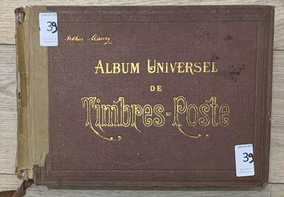 1 Album Maury Timbres du Monde Entier. Période...