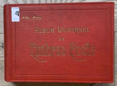 1 Album Maury Timbres du Monde Entier dont...