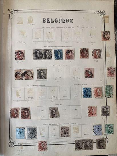 1 Caisse Belgique + Luxembourg + Congo Belge...