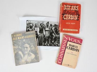 Boxe. Cerdan (22 juillet 1916-1949). Trois...