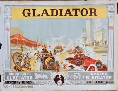 Automobile . Gladiator . Antiquité . Cirque....