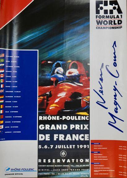 Auto. GP de France. F1. Nevers-Magny-Cours....