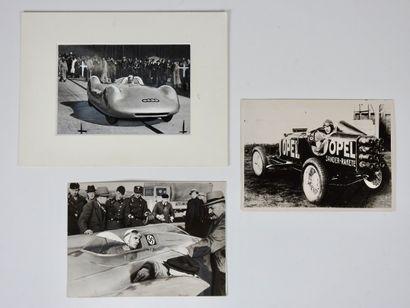 Auto. Rosemeyer. Auto-UnionRecords. Opel....