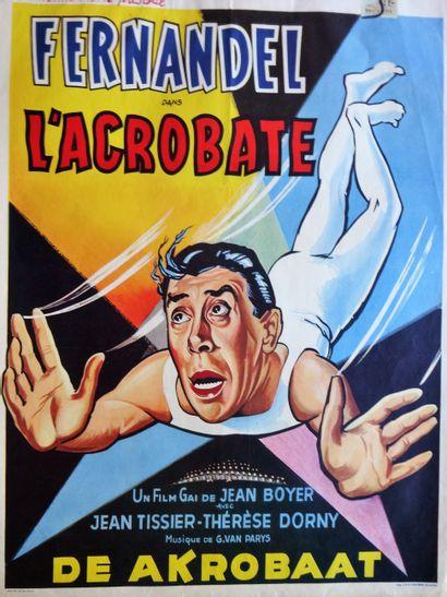 L'Acrobate 1941 - FR /Jean Boyer Fernandel/JeanTissier...