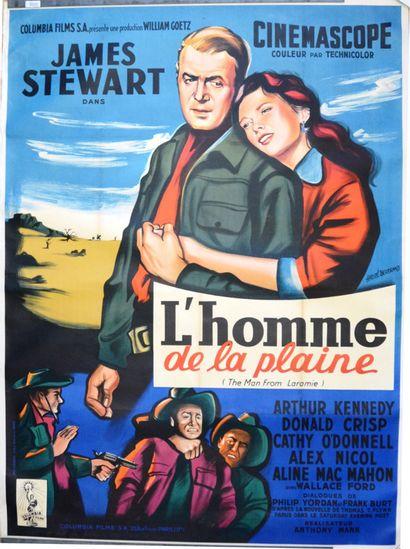 L HOMME DE LA PLAINE 1955 - FR William Goetz/Antony...